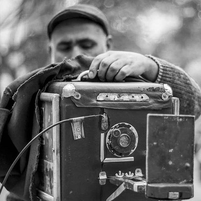 retrato realizada por fotógrafo minutero