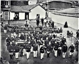 1863 cuerpo de bomberos de Valparaiso